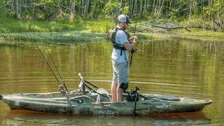 3 Mainstay Rods for Bass Fishing out of Kayaks