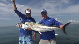 50lb Smoker Kingfish Fishing Off Cape Canaveral Florida – 4K