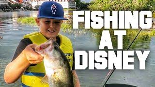 FlukeMaster – Bass Fishing at Disney with the Family