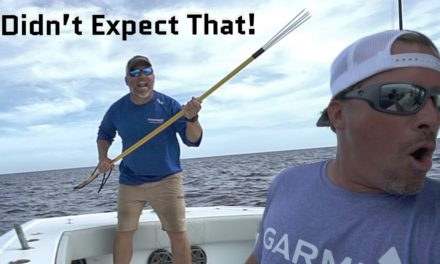 Scott Martin Pro Tips – Didn't Expect That! Fishing 1000ft. deep and things get SCARY!