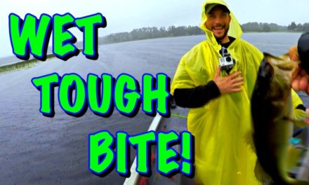 How To Catch BASS In The RAIN!! Finding Patterns When The BITE Is TOUGH!!