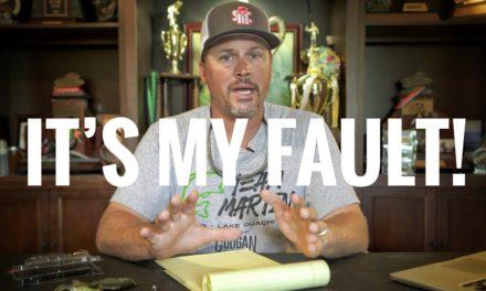 Scott Martin Pro Tips – IT'S MY FAULT! 20/20