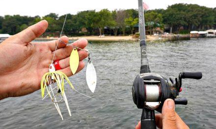 BASS FISHING Gin Clear water w/ GLOWING Baits??? (SURPRISING)
