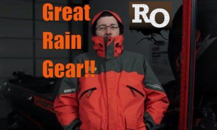 Best Fishing Rain Gear – Bass Pro Shops Pro Qualifier Gore Tex Suit – Amazing Rain Gear