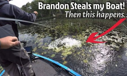 Brandon Steals my Boat! Then this happens…