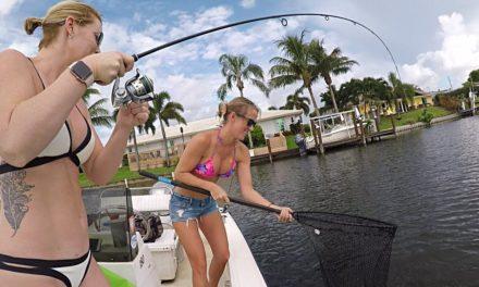 Lake fishing for Bass & Peacock bass in Florida