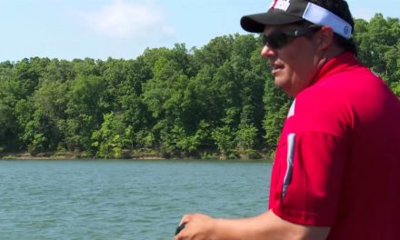 Tips for bass fishing in heavy wind