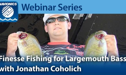 Webinar: Finesse Fishing For Bass with Jonathan Coholich