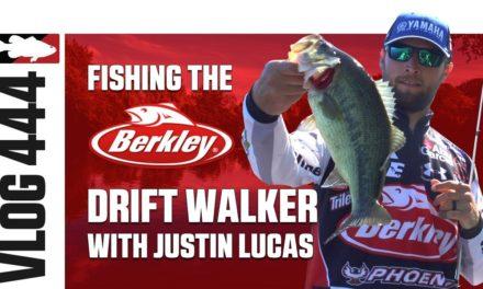 Justin Lucas Fishing the Berkley Drift Walker on Lake X in Kentucky – Tackle Warehouse VLOG #444