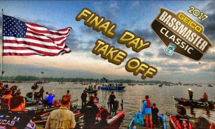 2017 Bassmaster Classic Final Day Take OFF…Front Row View