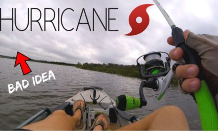 Bass Fishing Before a HURRICANE (Will the Fish BITE???)