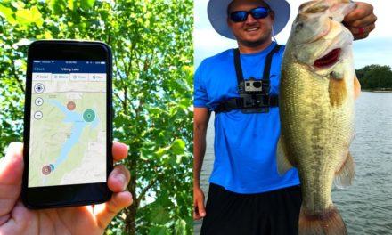 Flair – Catching BIG Bass using a PHONE APP?!?!? (NetFish)