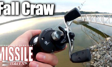 Fall Bass Fishing with a Texas Rig Craw & Abu Garcia Baitcaster