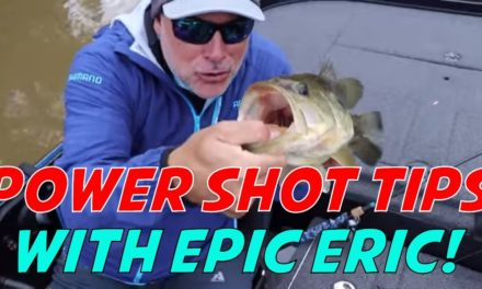 How to Power Shot for Largemouth Bass – Chesapeake Bay Bass Fishing with Epic Eric!