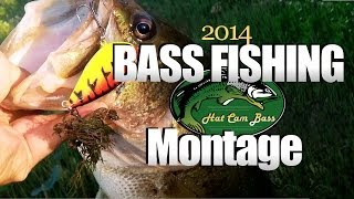 "Bass Fishing Montage – ""Moment of Impact"" (Hat Cam Bass)"