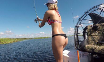 Bikini Bass Fishing Calendar shoot – Part 2
