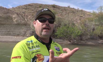 Fishing with Johnny Johnson – Lake Havasu, AZ – Early Spring – March 2015