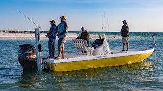New Port Richey Fishing the Flats for Redfish and Sharks – 4K
