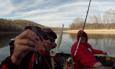 Table Rock Lake Winter Bass Fishing 40 degree water – Weekend Waters