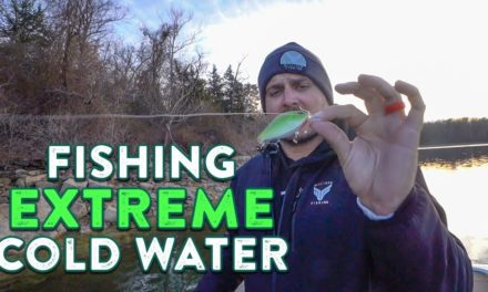 How To Catch Bass In EXTREMELY COLD Water w/ Milliken Fishing