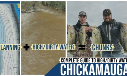 Complete Guide to High / Dirty Water Bass Fishing || Lake Chickamauga