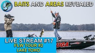 Top Patterns for Top Pros at Lake Toho FLW Tour Stop #2   Fish the Moment Live Stream #17