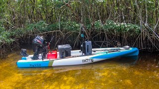Lawson Lindsey – Fishing the Florida Everglades in a Micro Skiff