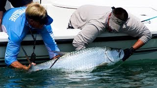 Cape Canaveral Tarpon Fishing with Live Bait off the Beach
