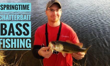 Chatterbait Bass Fishing! (Spring 2018)