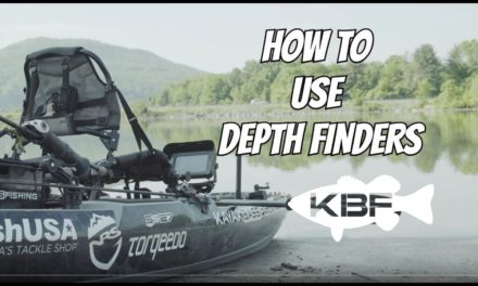 How To Use Depth Finders | BASS FISHING OFFSHORE | FLW KBF OPEN VLOG