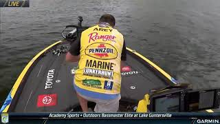 Bassmaster – Matt Arey's crucial catch late on Day 2