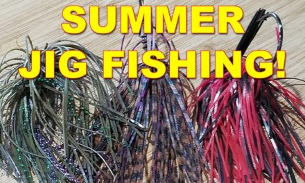 Summer Jig Fishing Tips for Bass Fishing (These Work!) | Bass Fishing