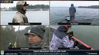 Bassmaster – Bassmaster LIVE at Lake Lanier 2019 – Sunday