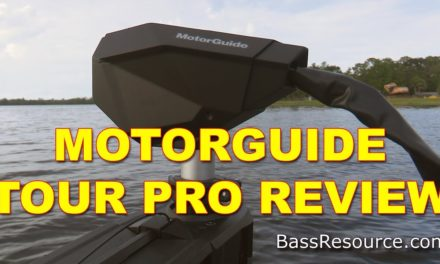 MotorGuide Tour Pro Trolling Motor Review | Bass Fishing
