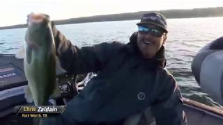Bassmaster – Chris Zaldain's big fish to start Day 2 of Bassmaster Elite at Cayuga Lake