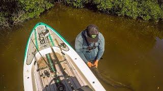 Lawson Lindsey – Micro Skiff Fishing | Jumping Out To Land BIG Fish!