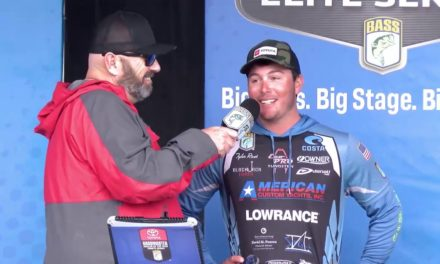 Bassmaster – 2019 Toyota Bassmaster Angler of the Year Championship Day 1 weigh in
