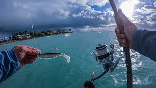Lawson Lindsey – Fishing During a Feeding Frenzy in a Huge Inlet During a Storm
