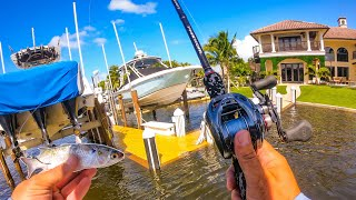 Lawson Lindsey – Fishing During a Giant Flooding King Tide