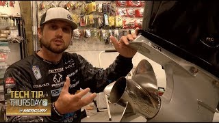 Bassmaster – Stetson Blaylock on selecting the correct outboard propeller for performance