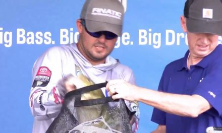Bassmaster – 2019 Toyota Bassmaster Angler of the Year Day 3 final weigh-in