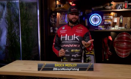 Bassmaster – Brock Mosley's versatile crankbait for the Fall to Winter transition