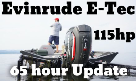 FlukeMaster – After 65 hours using the Evinrude E-Tec 115 – Boat Motor Review