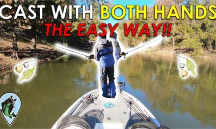 How to Cast with Opposite Hand | Bass Fishing Casting Instruction and Tips