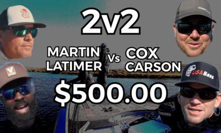 Scott Martin Pro Tips – Team Martin vs Team Cox for $500.00 – Who will WIN!?