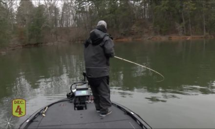 Bassmaster – David Mullins' finds the perfect cast at Lanier
