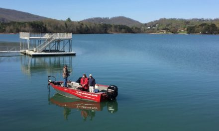 Bass Fishing Lake Chatuge with Mountain Lakes Guide Service – April 2017