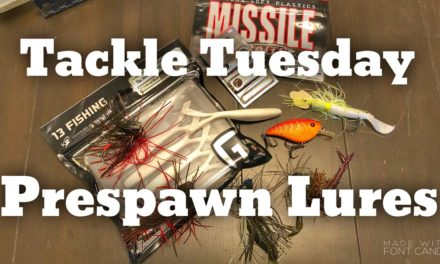 FlukeMaster – Tackle Tuesday – 5 Lures for Prespawn Bass Fishing