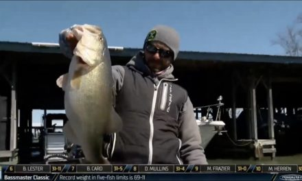 Bassmaster – Brandon Lester's big move on Lake Guntersville