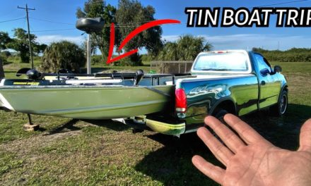 Scott Martin Pro Tips – I take a Subscriber in the TIN BOAT – You can go to…